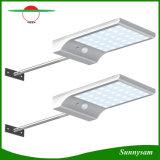 2 свет держателя стены обеспеченностью света датчика движения солнечной силы установок 36 СИД напольный для балкона, загородки