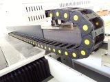기계 t-셔츠를 인쇄하는 UV LED 가죽은 평상형 트레일러 인쇄 기계를 입는다
