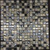 Kristallglas und Steinmischmosaik-Fußboden-Fliese