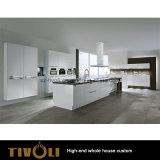 光沢のある絵画指の引きのキャビネットの現代台所家具(AP142)