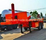 2/3 remorque de tombereau de conteneur des essieux 20FT, emboutage de remorque de conteneur