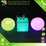 Outdoor and Indoor Plastic Rechargeable Illuminated LED Bar Furniture
