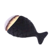 人魚の魚のハンドルの装飾的な構成は化粧品にブラシをかける