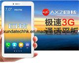 Pouce Ax2 de CPU Mtk8382 7 du faisceau 3G de quarte de tablette PC