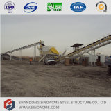Bandförderer-unterstützende Stahlkonstruktion