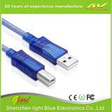 OEM que embala cabo do USB do ângulo direito o mini