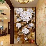 La peinture chinoise estampée par Digitals de pivoine pour la décoration de vestibule