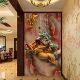 L'harmonie porte la peinture chinoise estampée par Digitals de richesse pour la décoration de vestibule
