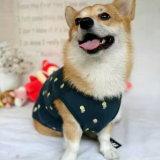 여름 애완 동물을%s 귀여운 인쇄한 애완 동물 t-셔츠는 애완 동물 공급을 입는다