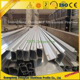 Perfil de aluminio anodizado sacado modificado para requisitos particulares de los muebles para la decoración de los muebles