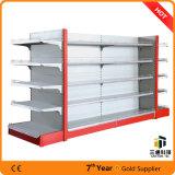 Durable Metal Supermarket Shelving / Steel display Supermarket Gondola Rack