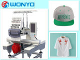 Wonyo 자수 기계는 모자와 t-셔츠를 위한 12/15대의 색깔 단 하나 맨 위 자수 기계를 전산화했다