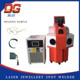 Горячая заварка пятна сварочного аппарата лазера ювелирных изделий типа 100W внешняя