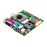 C.C de Celeron 1037u 1.8GHz 12V de la carte mère Mini-Itx 1037 d'Intel, Lvds, HD MI, panneau industriel de fente de carte SIM du VGA 3G