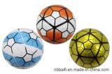Kundenspezifisches Förderung der Prining Größen-5 Handsewn Kurbelgehäuse-Belüftung Soccerball