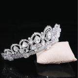 Искриться крона тиар венчания держателя сплава кристаллический каменная