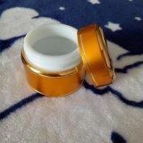 choc en aluminium de base rond de crème du soin 7g personnel