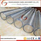 Linha reforçada fio da extrusão da mangueira do PVC Stee