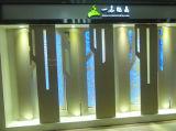 Nano выкристаллизовыванные стеклянным плитки подгонянные камнем для украшения искусствоа