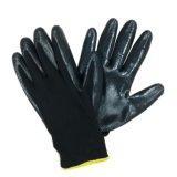 Перчатка работы безопасности перчаток полиэфира покрынная нитрилом