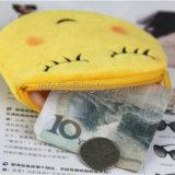 Мешок монетки плюша Emoji потехи новой конструкции изготовленный на заказ