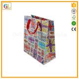 Bolso de compras de papel modificado para requisitos particulares profesional de la alta calidad