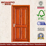 MDF Veneer Single Leaf Wooden Swing Door (GSP6-013)
