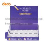 Kosmetische Pappschaukarton-Kostenzähler-Bildschirmanzeige für Einzelverkauf