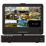 """Gute Kanal H. 264 des Preis-8 unabhängiger CCTV DVR mit 10.5 """" LCD"""