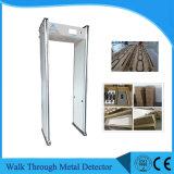 Caminata de la sensibilidad 0-255 de las zonas del múltiplo alta a través del detector de metales con 2 años de garantía