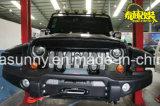 Gril fâché d'avant de noir de gril d'oiseau de première vente avec des garnitures intérieures pour le Wrangler de jeep