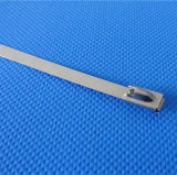 Los chinos fabrican las ataduras de cables del metal del acero inoxidable con el bloqueo de la bola