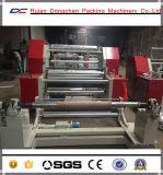 Horizontaler Typ Plastikfilm Sliting Maschine der Aufschlitzenund Rückspulenmaschine