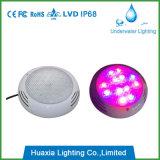 Luz montada superficial de la piscina de IP68 18W LED