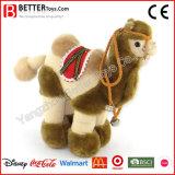 Brinquedo macio enchido realístico do camelo