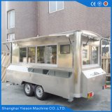 Chariots mobiles de restauration de cuisine d'acier inoxydable de Ys-Fv450A 4.5m à vendre