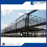 Prefabricada Taller de estructura de acero galvanizado resistente al fuego y resistente al agua