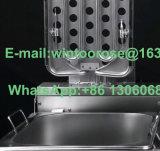frigideira elétrica nova do aço inoxidável do Sell da parte superior 10L com Ce
