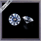 Blanco claro E / F de color 1.5carat Moissanite Diamante