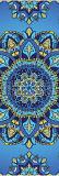 Patroon van Mandala van de Yoga Microfiber van de hitte het Sumblimation Afgedrukte