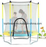 Runde grosse Trampoline mit Gehäuse für Kinder