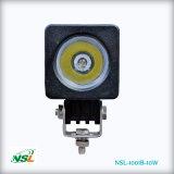 10W LED 일 램프가 백색 반점 광속 플러드 광선 6000K 순수한 백색에 의하여 LED 점화한다