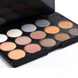 Sombreador de ojos barato al por mayor del arco iris de la gama de colores del sombreador de ojos de los colores del maquillaje 15
