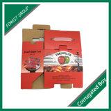 Caja de embalaje de Kraft del diseño del carbón durable de la impresión