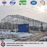 Edifício/construção/armazém estruturais de aço garantidos qualidade