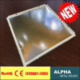Soffitto decorativo falso del composto delle lane della fibra di vetro sospeso metallo di alluminio