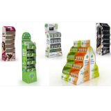Supermarkt-Imbiss-Fußboden-Ausstellungsstand-Pappe für Schokoladen-Plätzchen