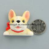 Magneet van de Koelkast van de Hars van de douane de Leuke Van een hond voor Verkoop