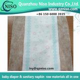 Pellicola laminata respirabile 26GSM non tessuto (LSR-07) delle materie prime del pannolino del bambino