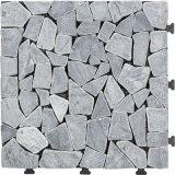Pavimento di pietra grigio delle mattonelle di pavimentazione di standard europeo DIY per la decorazione del giardino